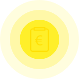 Financial documents large icon